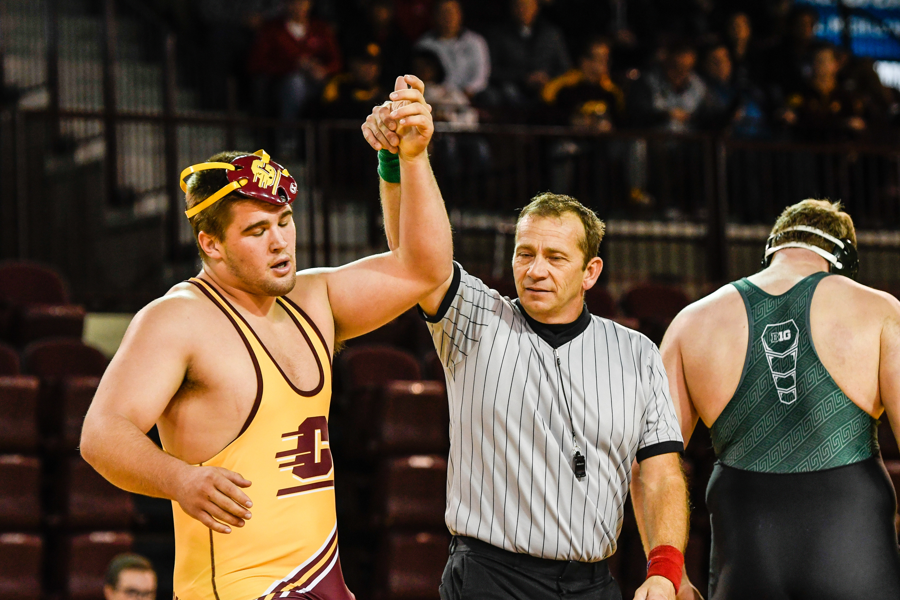ad7f5df26fe7 Chippewas Wrestlers Complete Unbeaten Weekend - Central Michigan ...