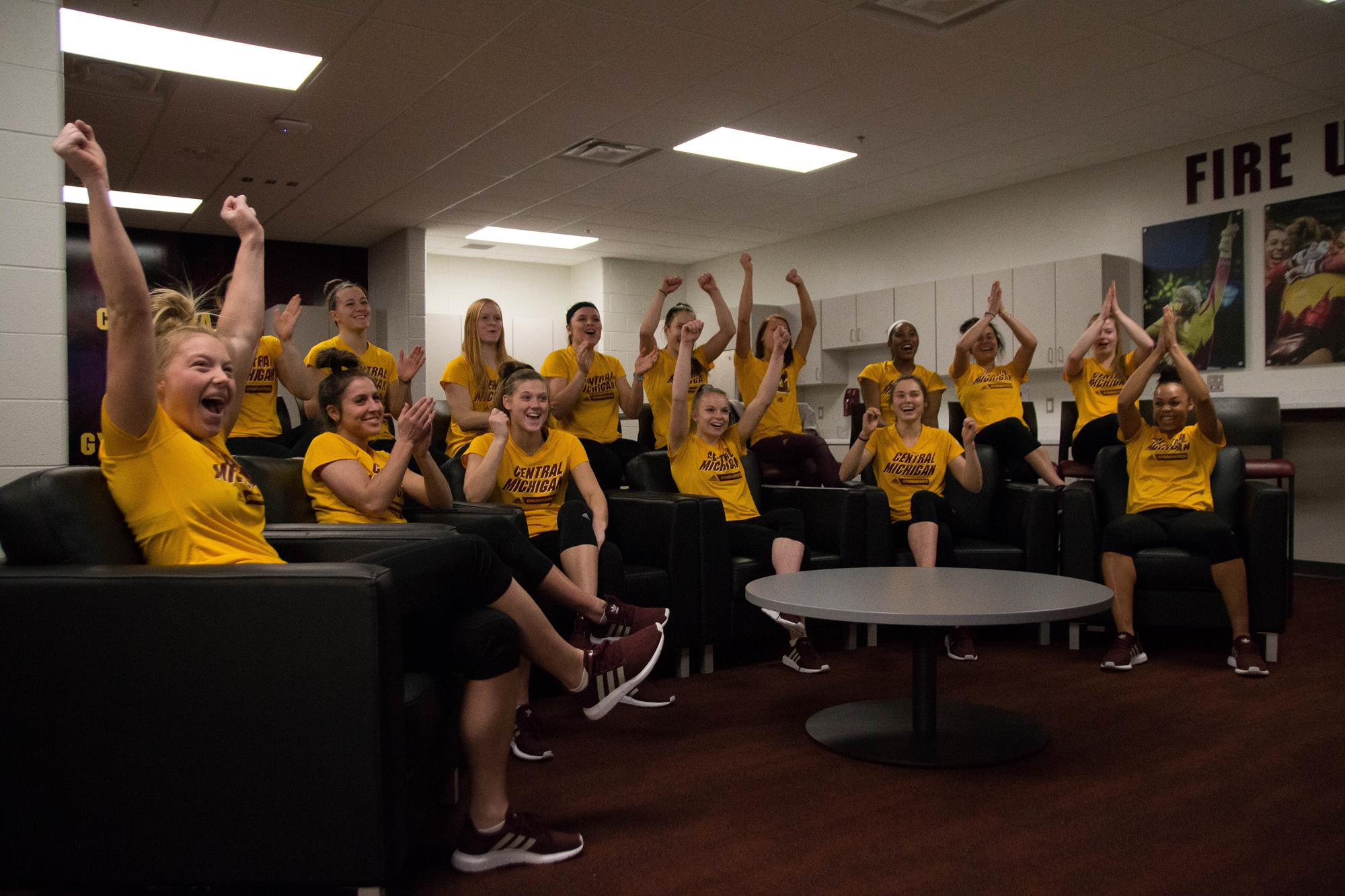 4209ff6b64c6 Heartbreakingly Close For CMU Gymnasts - Central Michigan University ...